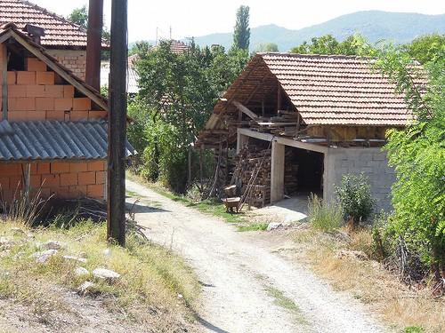 民家の納屋