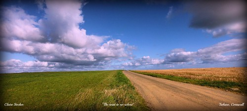"""Road to no-where"" by Stocker Images"
