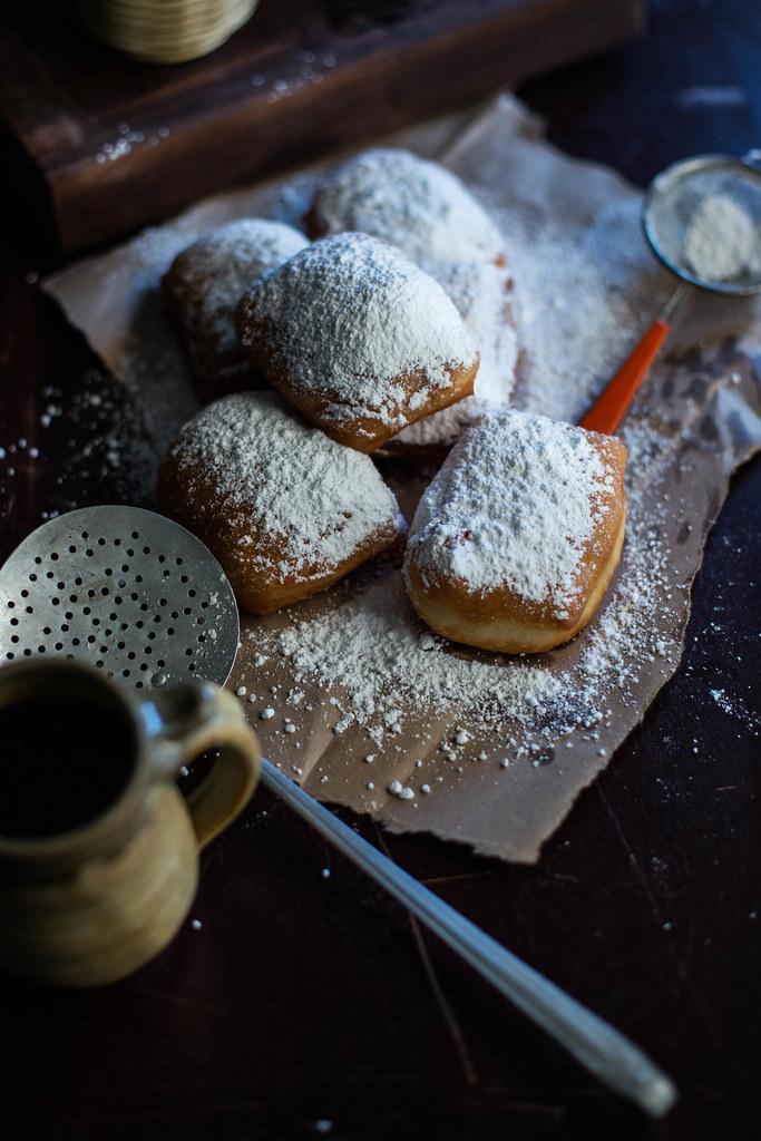 buttermilk beignets + chicory crème pâtissière