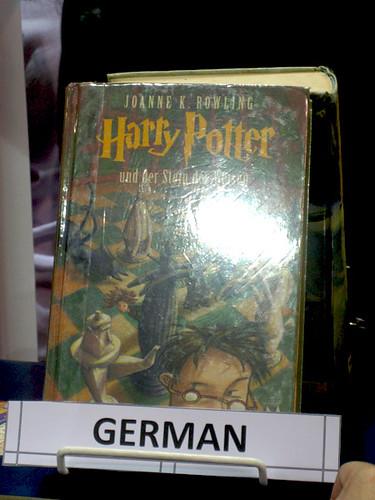 In German
