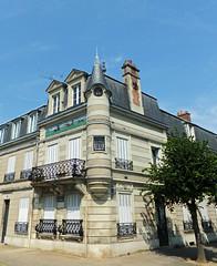 CHANTILLY, town & Church. France
