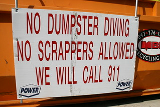 No Scrappers Allowed
