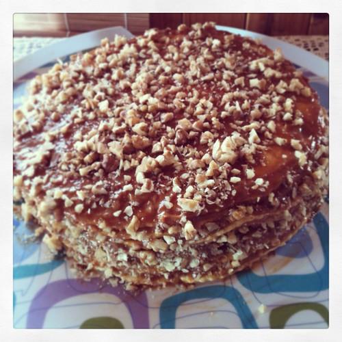 Torta de mil hojas / Cake