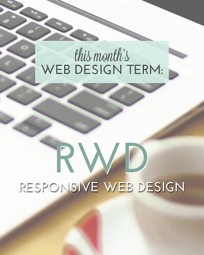 Responsive Web Design is this month's Web Design Term at http://www.designyourownblog.com