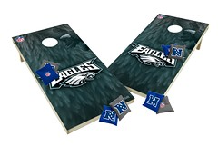 Philadelphia Eagles Custom Cornhole Boards XL