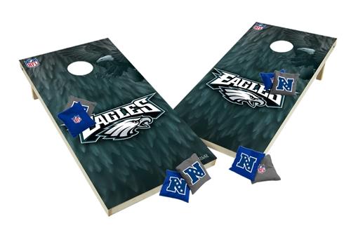 Custom Philadelphia Eagles Cornhole Boards XL