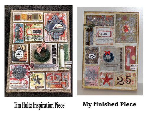 Tim Holtz inspired by Lynne Larkin