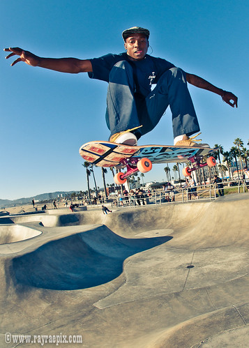 Leandre Sanders 9-27-13, Venice Skatepark Picture of the Week at YoVenice.com