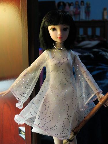 Kiki's party dress