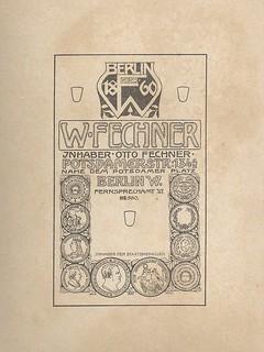 Wilhelm Fechner 1900
