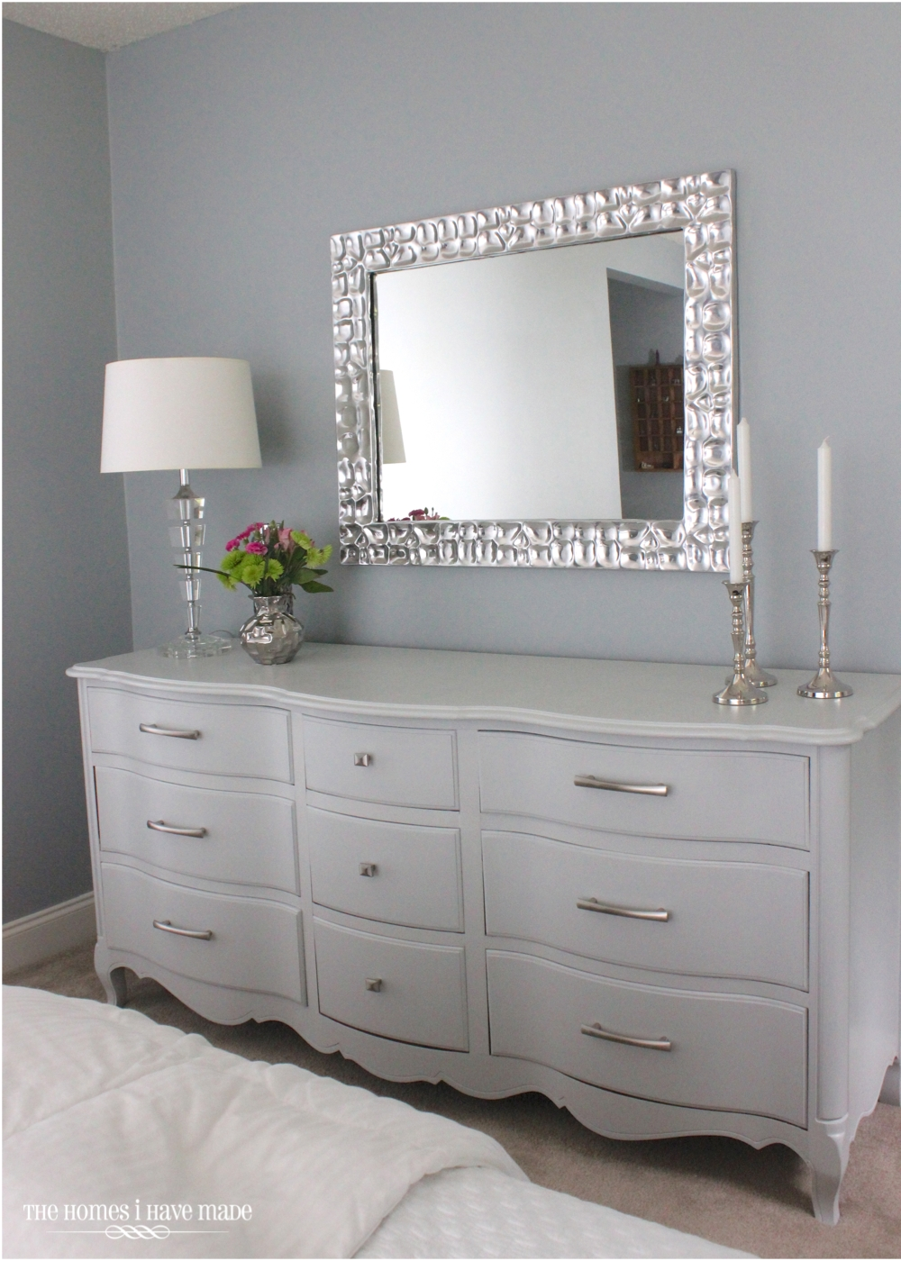 A modern french provincial the homes i have made Best color to paint dresser