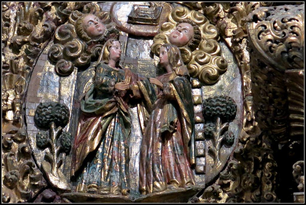 Iglesia de Luanco: retablo mayor