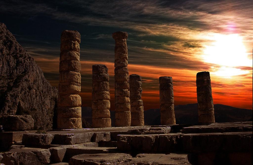 Delphi, Greece - Temple of Apollo (4th century BC)