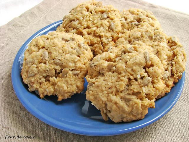 печенье с семечками и кокосом 1