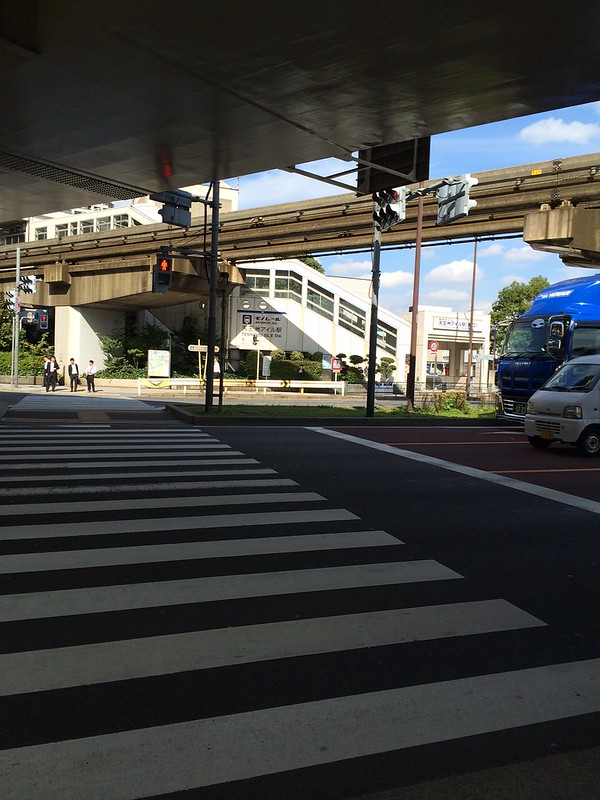天王洲アイルで乗り換え by haruhiko_iyota