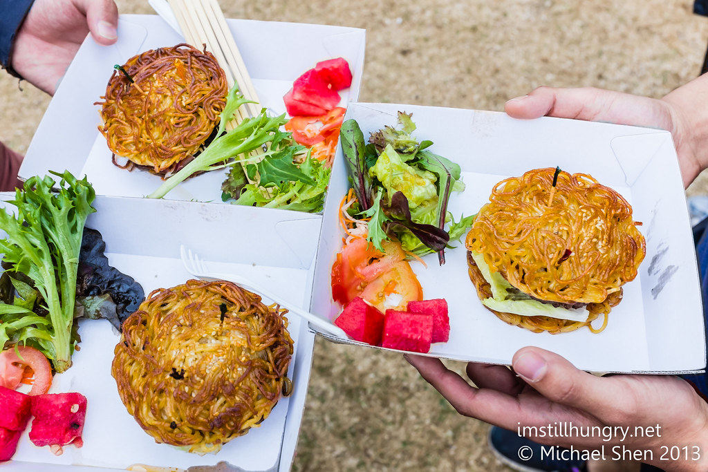 Night noodle markets ramen burger