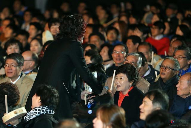 Photo:Korea_President_Park_Arirang_Concert_20 By KOREA.NET - Official page of the Republic of Korea