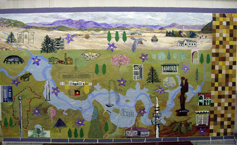 Canberra Centenary Tapestry finished
