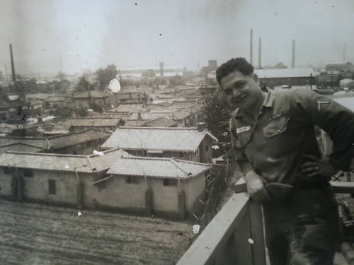 Dad in Korea