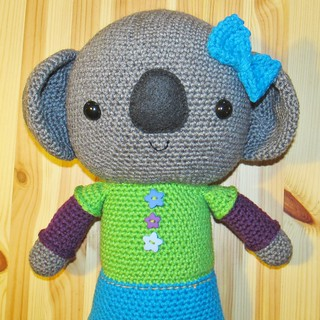BIG Amigurumi Koala pattern :)