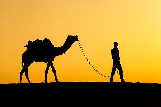 Sunset @ Jaisalmer