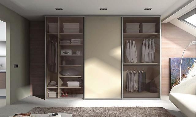 correderas cristal y aluminio para armarios