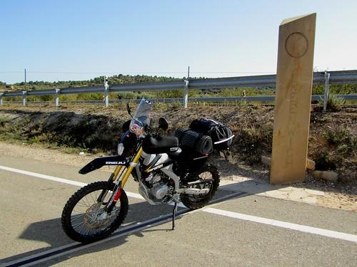 meridiano Greenwich cerca Valdealgorfa, Teruel (2)