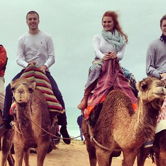 Camel Riding in Morocco!