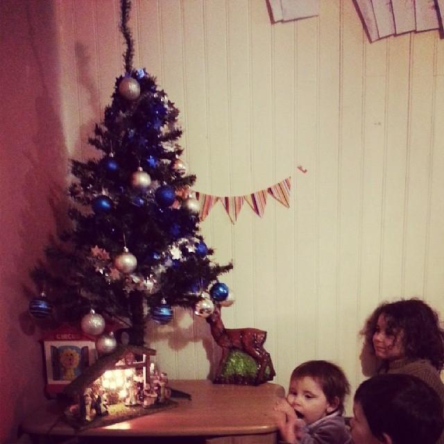 ♥ mission sapin et crèche de Noël terminer ♥ #noel #ourlittlefamily #france