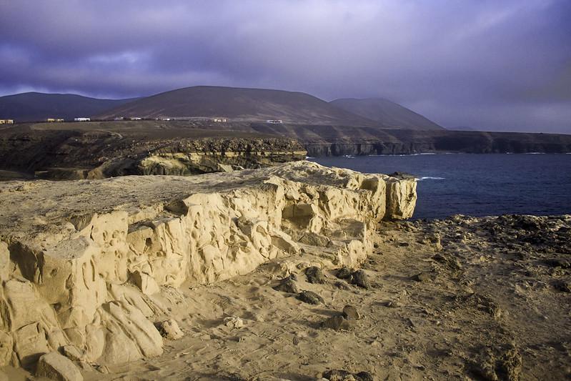 - fossil dunes, Ajuy - Fuerteventura