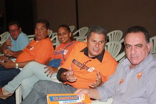 Da esquerda para a direita os diretores Ricardo Rodrigues (Teco), Eufrozino Pereira, Yara Pereira, Roberto Sargento e Lourival Aparecido
