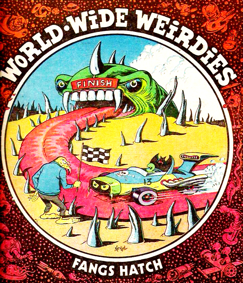 Ken Reid - World Wide Weirdies 117