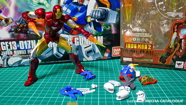 HGFC Shining Gundam - Work in Progress #1