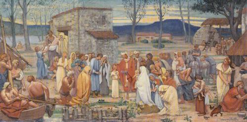 聖ジュヌヴィーヴの幼少期