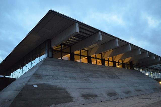 Biosphaere Potsdam exterior corner