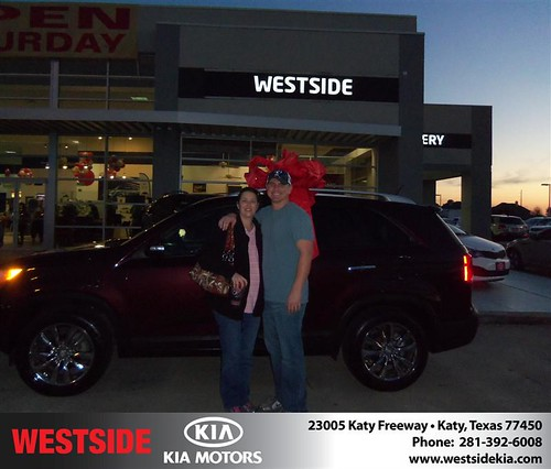 Happy Anniversary to Ross Sinclair on your 2013 #Kia #Sorento from Chowdhury Rubel and everyone at Westside Kia! #Anniversary by Westside KIA