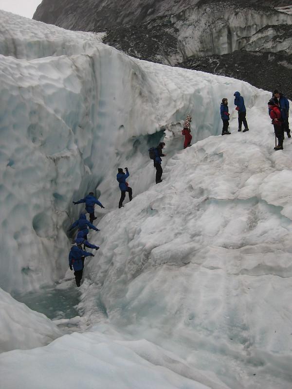 Hiking on Franz Josef Glacier - New Zealand