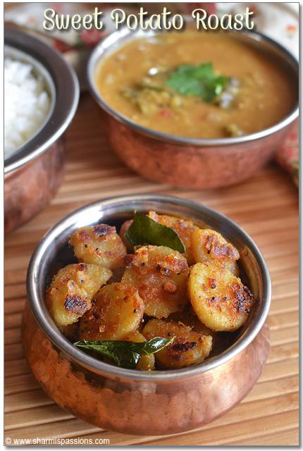 Sakkaravalli Kizhangu Varuval Recipe