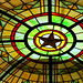 Driskill Bar Stained Glass Dome by Dollymae Dagger
