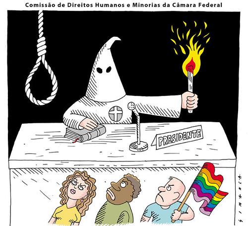 Pastor Marco Feliciano e a Comissão de Direitos Humanos e Minorias, por Simanca