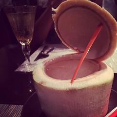 Coconut juice #bangkok #thailand