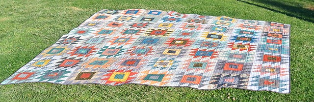 rocky mountain puzzle quilt