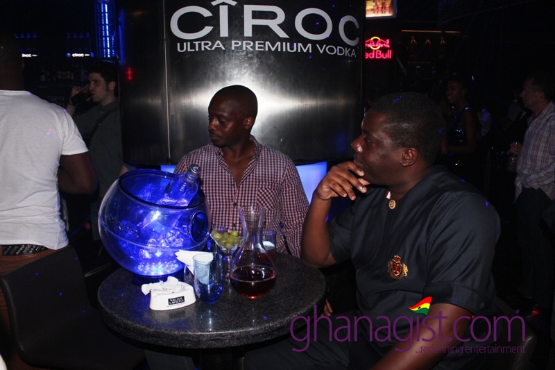 D-Black and Ciroc Party