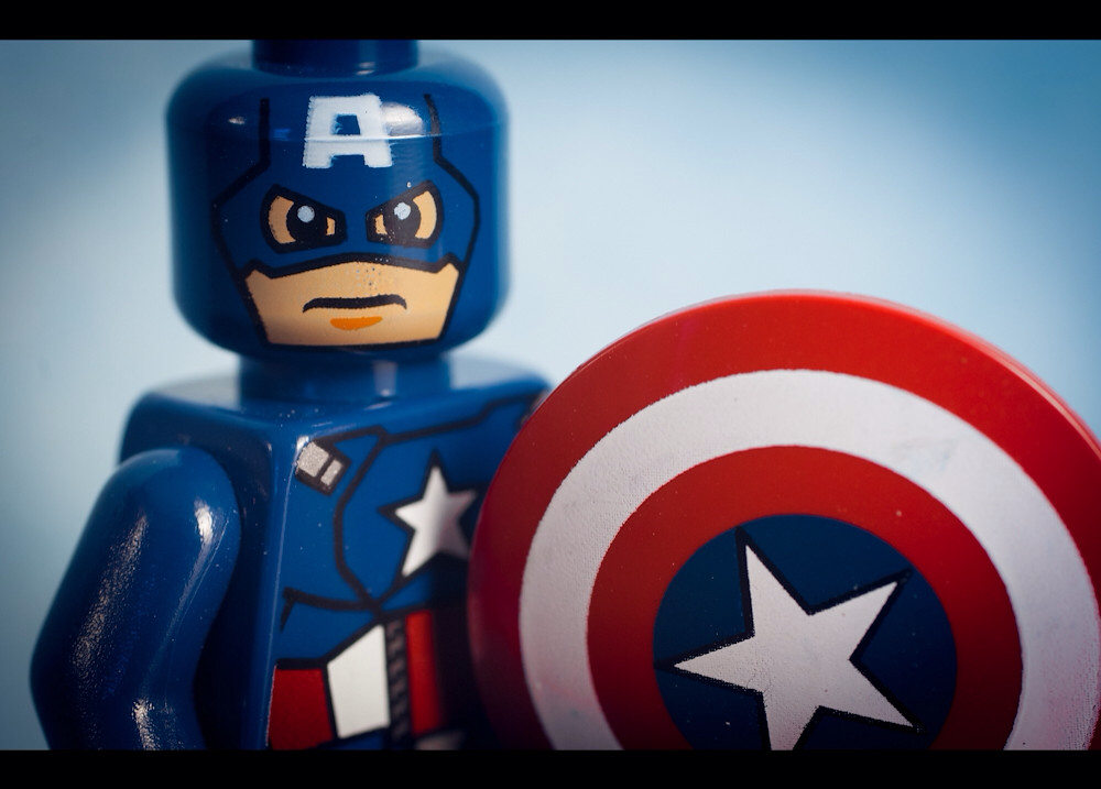 My all-time favorite superhero: Captain America
