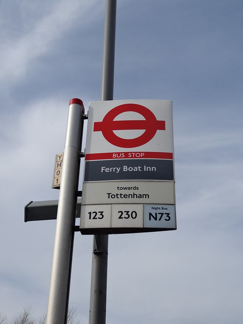053 - Ferry Boat Inn bus stop