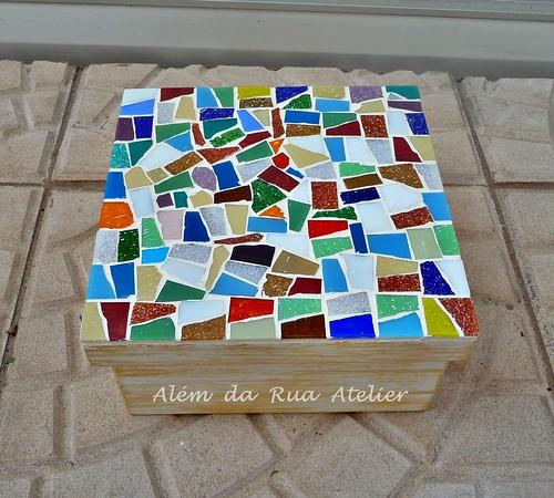 Caixa de mosaico