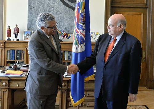 OAS and Association of Caribbean States Seek to Strengthen Cooperation Ties