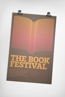 Fake litterature festival poster design tutorial