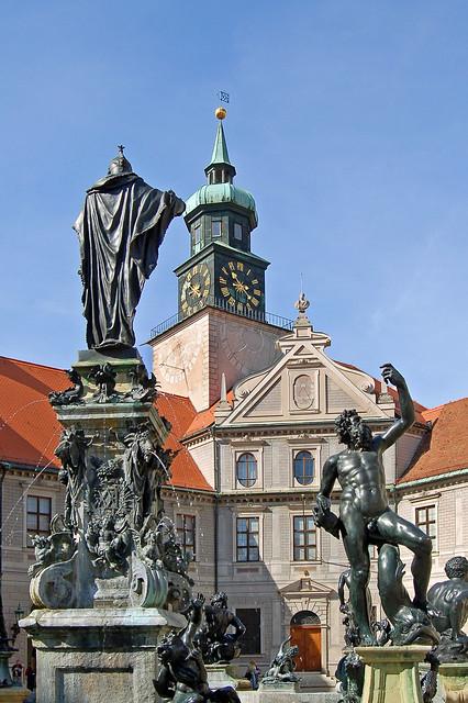 München - Residenz (4) - Brunnenhof
