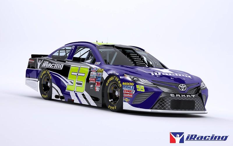 iRacing 2018 NASCAR Toyota Racing Camry